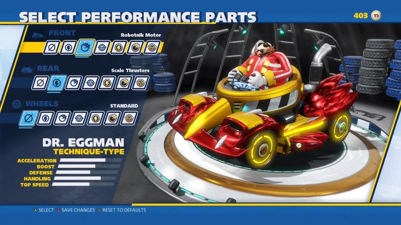 Team Sonic Racing Customization Screenshot 3