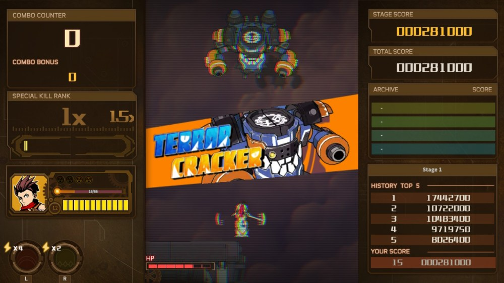 AngerForce: Reloaded Review Screenshot 3