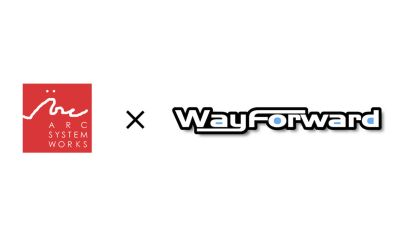 Arc System Works X WayForward Logo