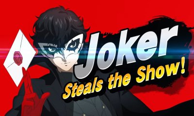 Joker Steals Super Smash Bros. Ultimate Screenshot