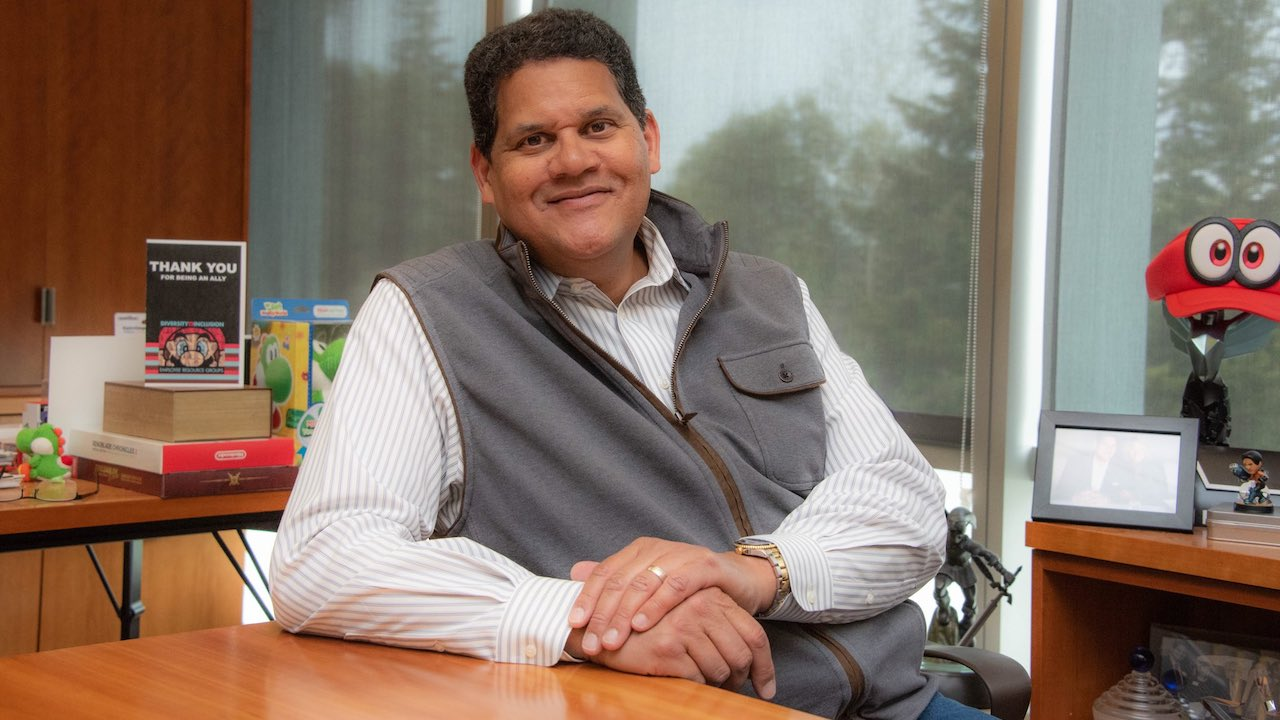 Reggie Fils-Aimé Retirement Photo