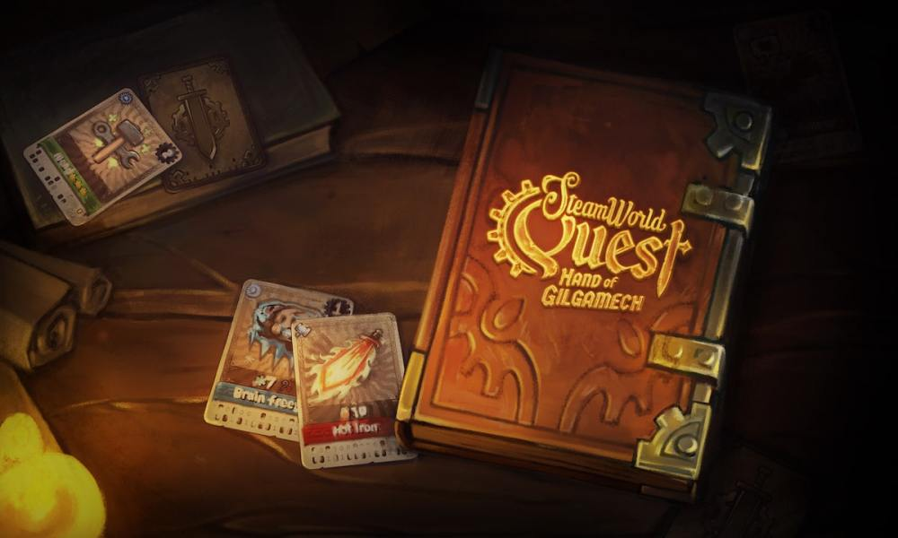 SteamWorld Quest Review Header