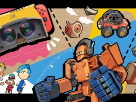 Super Smash Bros. Ultimate Nintendo Labo Spirit Board Screenshot