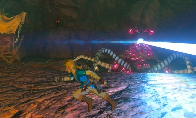 Zelda: Breath of the Wild Guardian Screenshot
