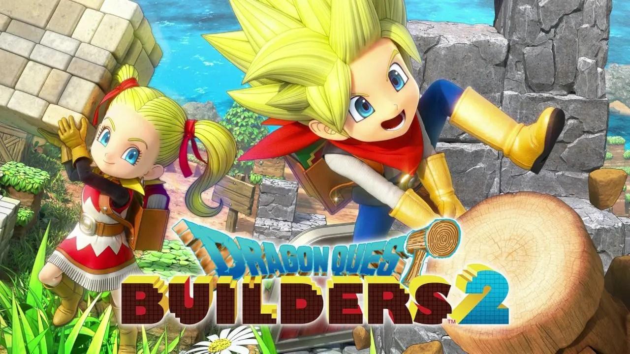 Dragon Quest Builders 2 Key Art