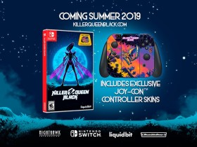 Killer Queen Black Switch Box Art And Controller Skins