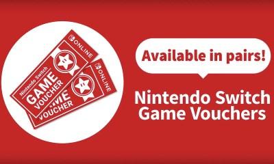Nintendo Switch Game Vouchers Image