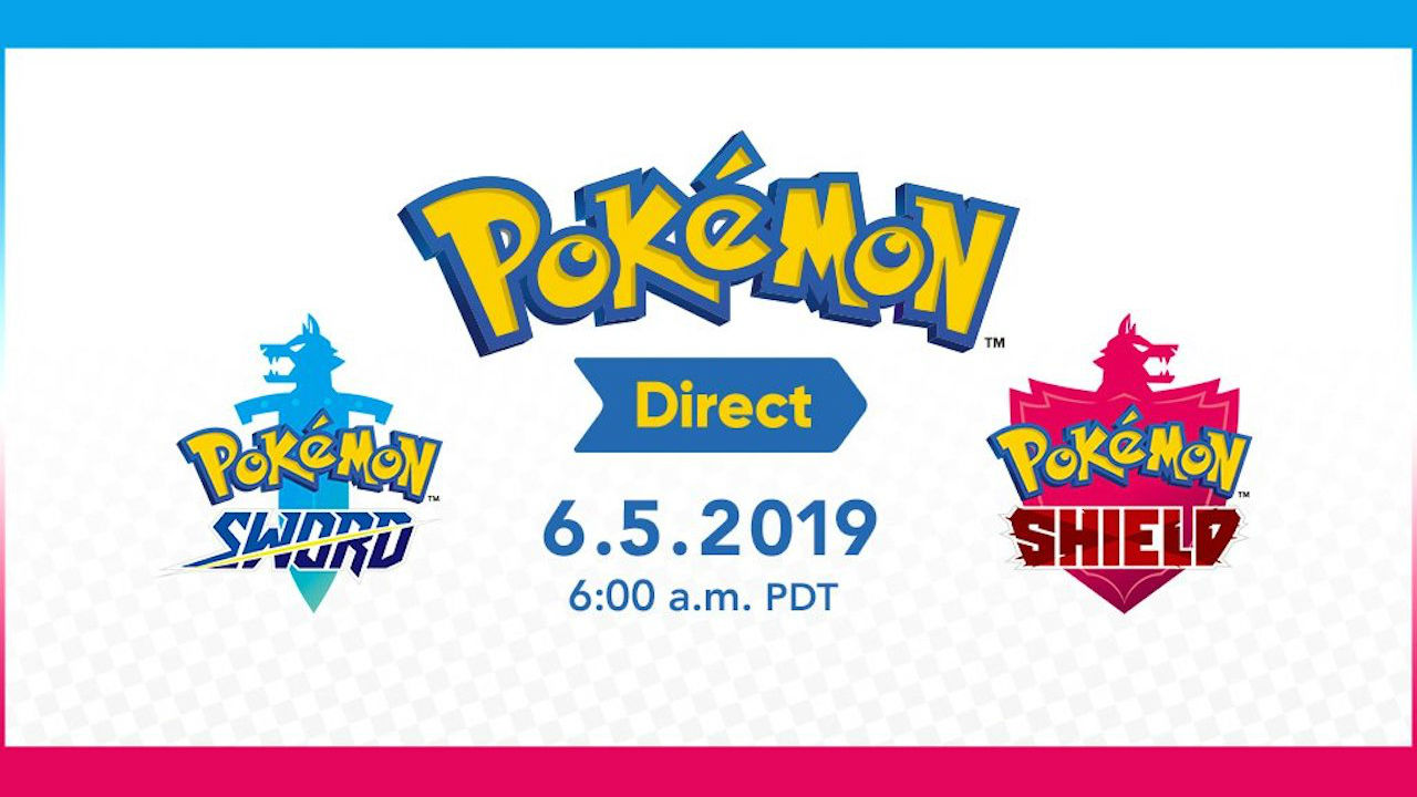 Pokemon Direct Will Share Pokemon Sword And Shield News Next Week