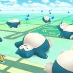 Sleeping Snorlax Pokémon GO Screenshot