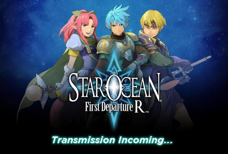 Star Ocean First Departure R Key Art