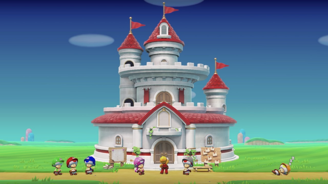 Super Mario Maker 2 Preview: Rebuilding Peach's Castle From