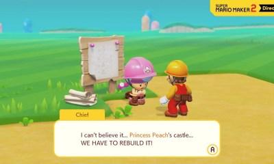 Super Mario Maker 2 Story Mode Screenshot