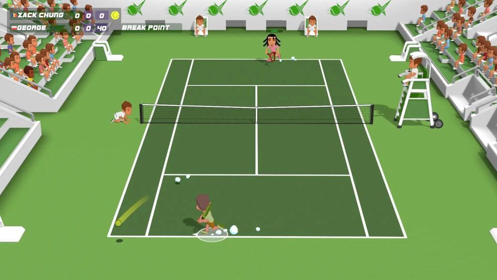 Super Tennis Blast Screenshot 1