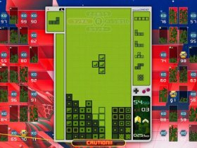 Tetris 99 Game Boy Theme Screenshot