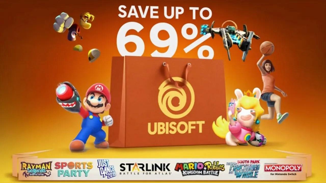 Ubisoft Nintendo eShop Sale Image