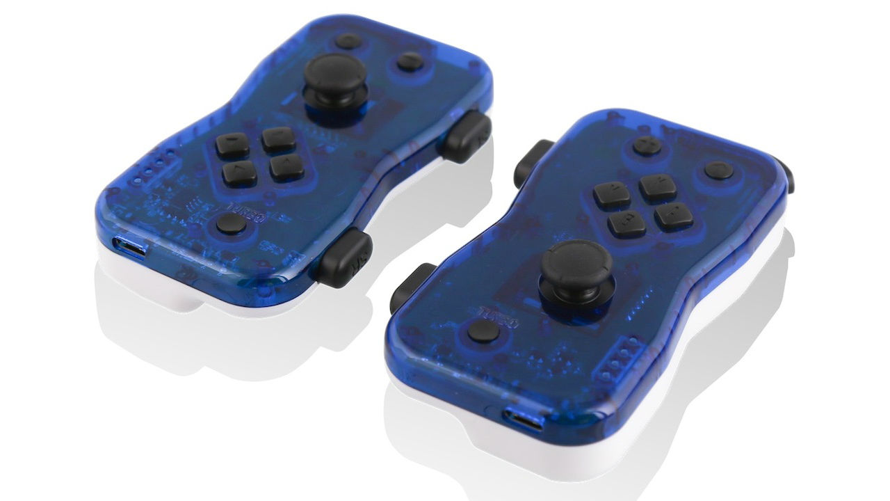 Blue Dualies For Nintendo Switch Photo