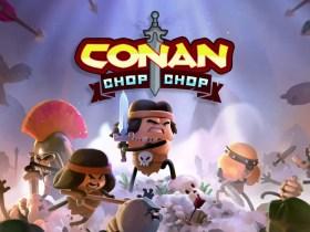 Conan Chop Chop Key Art