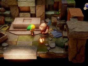 Dampé Legend Of Zelda: Link's Awakening E3 2019 Screenshot