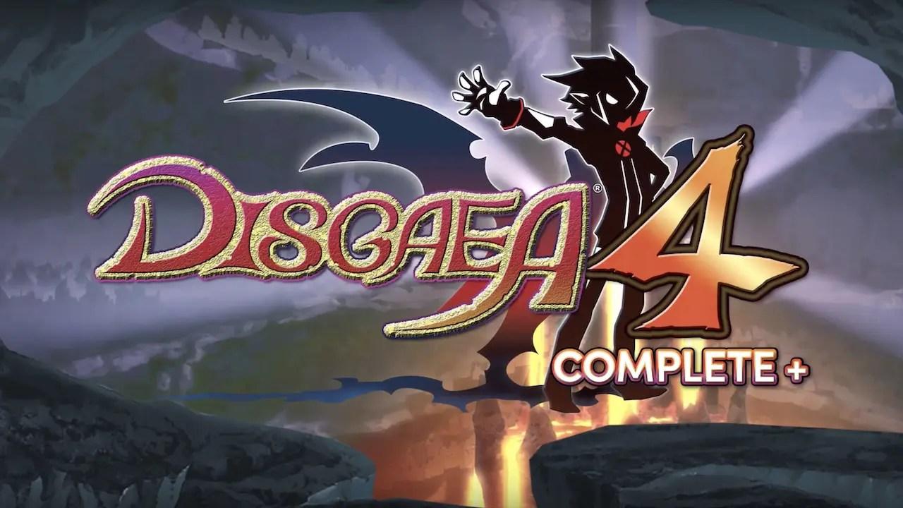 Disgaea 4 Complete+ Logo