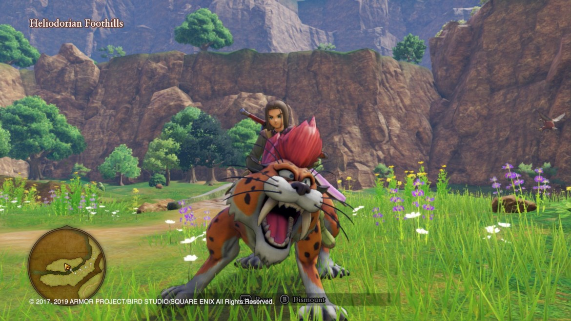 Dragon Quest XI S: Echoes of an Elusive Age Definitive Edition E3 2019 Screenshot 3