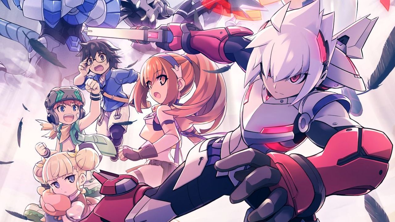 Gunvolt Chronicles: Luminous Avenger iX Key Art