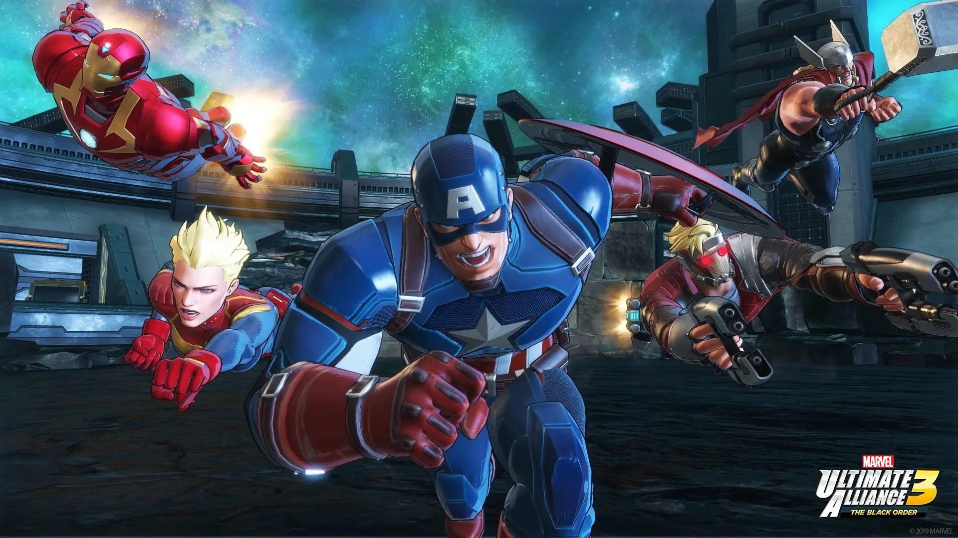 Marvel Ultimate Alliance 3: The Black Order E3 2019 Screenshot 11