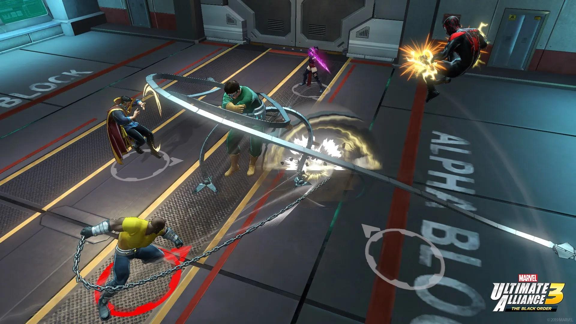 Marvel Ultimate Alliance 3: The Black Order E3 2019 Screenshot 2
