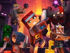 Minecraft Dungeons Key Art