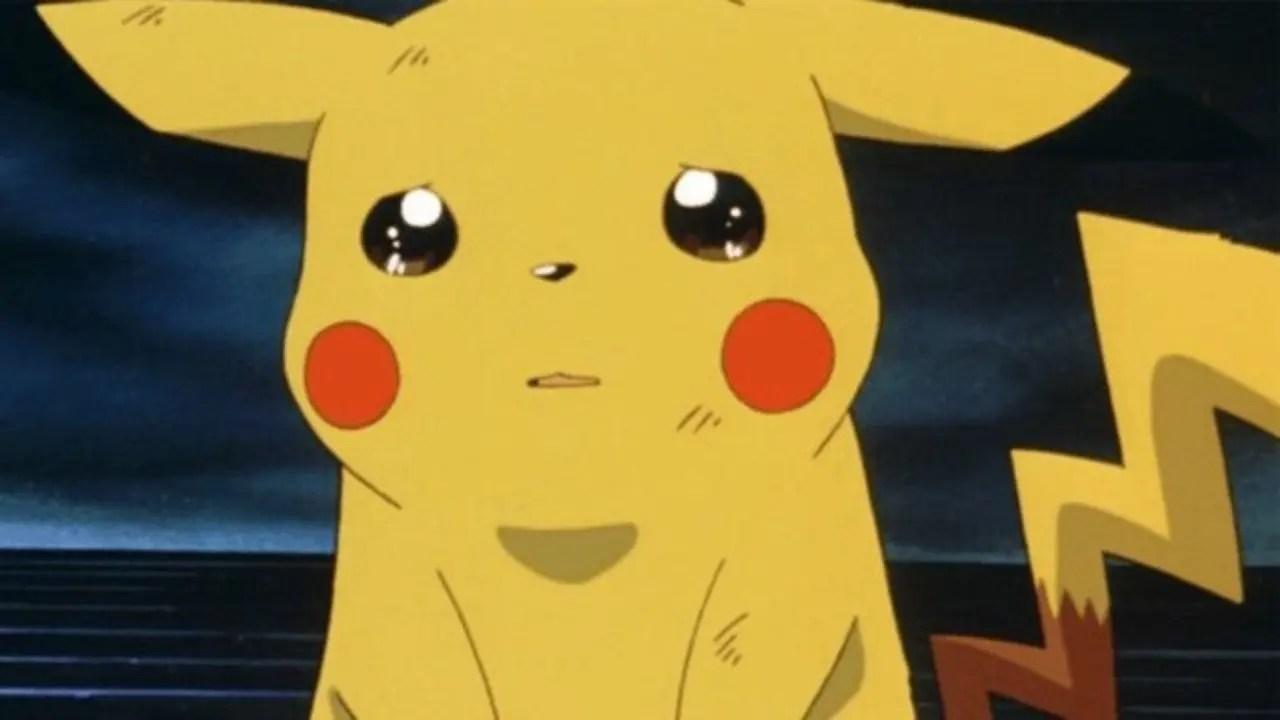 Pikachu Crying Screenshot