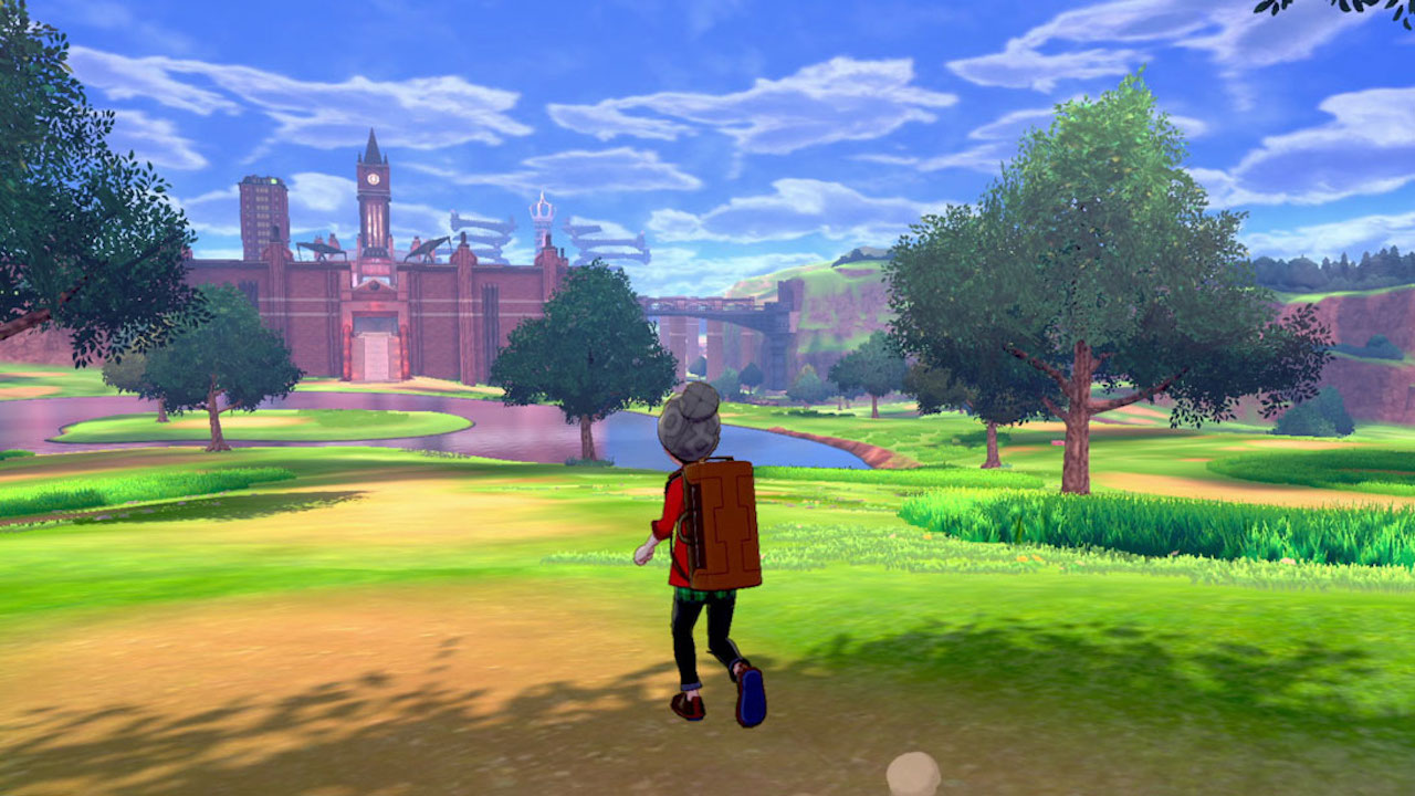 Pokemon Sword and Shield looks like an ass graphically