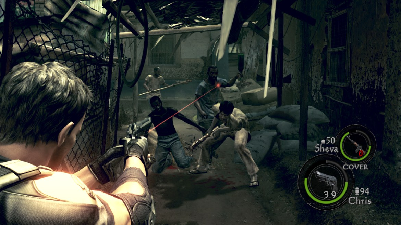 Resident Evil 5 Nintendo Switch Screenshot 2