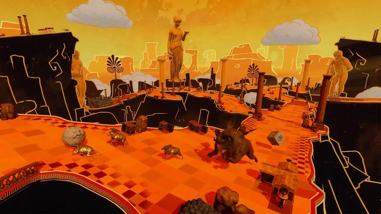 Rock Of Ages 2: Bigger And Boulder Review Screenshot 1