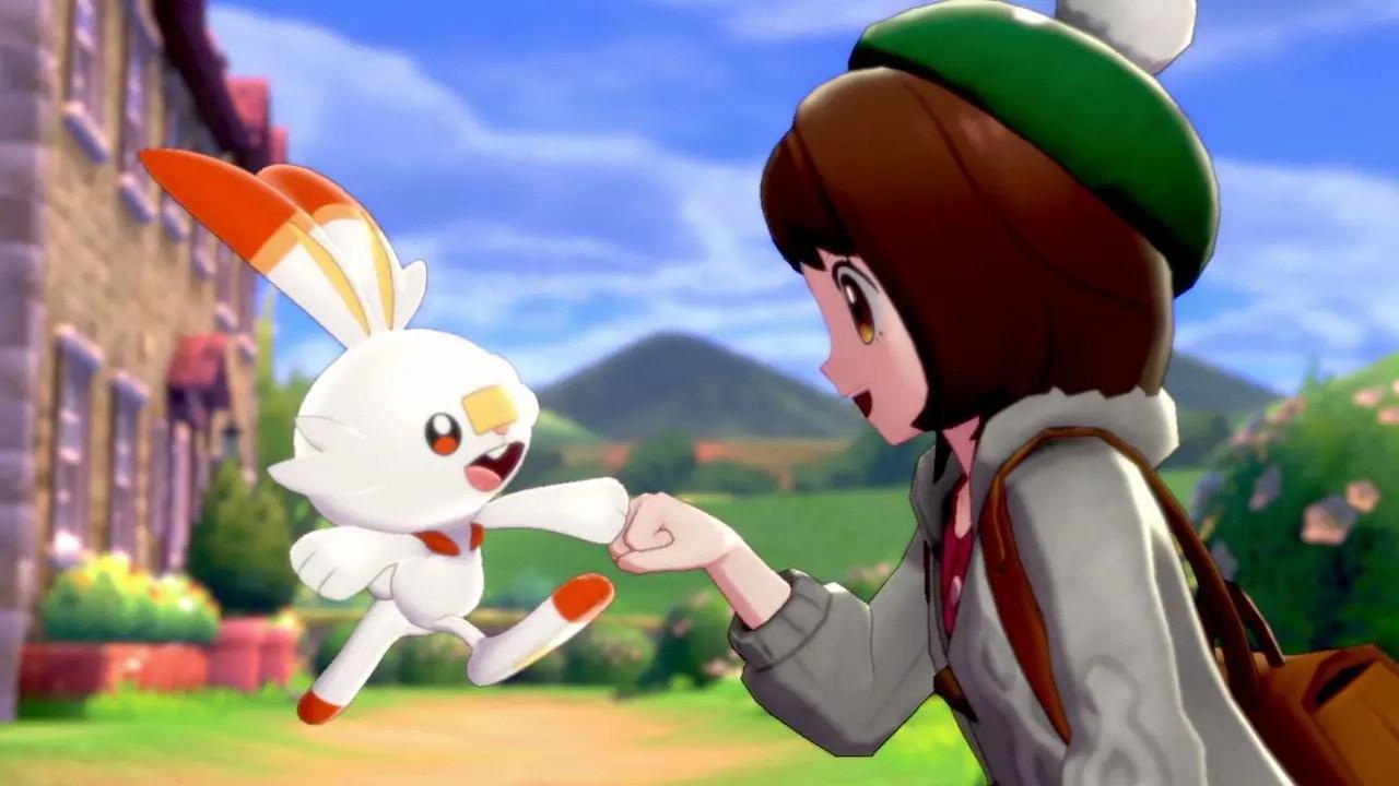 Scorbunny Pokémon Sword And Shield E3 2019 Screenshot