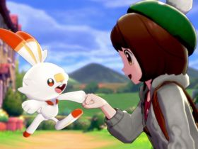 Scorbunny Pokémon Sword And Shield E3 2019 Screenshot