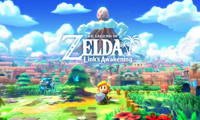 The Legend of Zelda: Link's Awakening Key Art