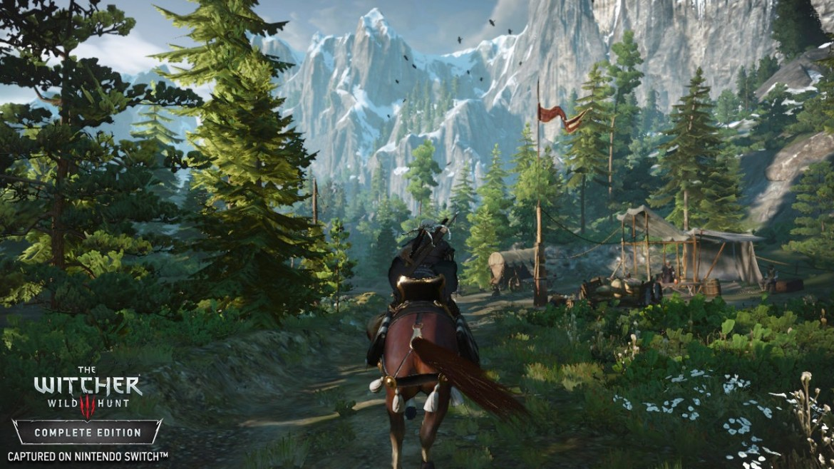 The Witcher 3: Wild Hunt Complete Edition E3 2019 Screenshot 1
