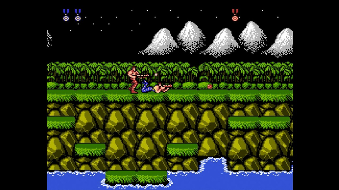 Contra Anniversary Collection Review Screenshot 1