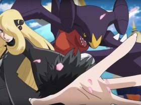 Cynthia Garchomp Pokémon Masters Screenshot