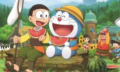 Doraemon Story Of Seasons Key Art