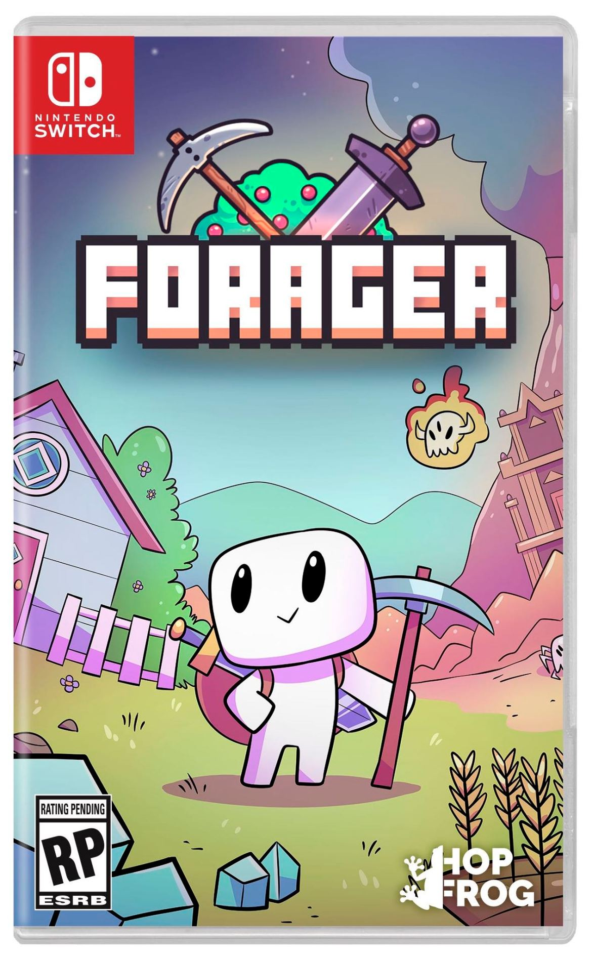 Forager Switch Box Art