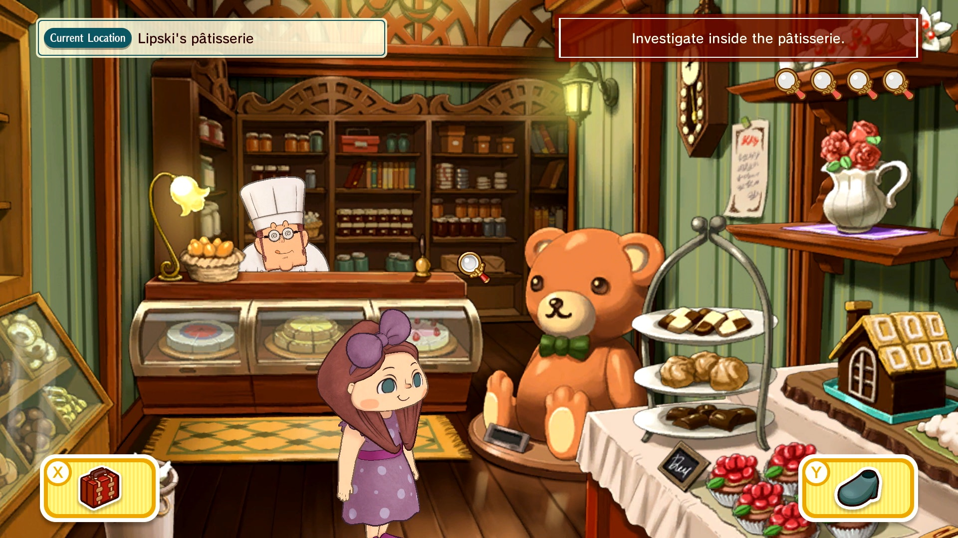 Layton's Mystery Journey: Katrielle and the Millionaires' Conspiracy Deluxe Edition Switch Screenshot 4
