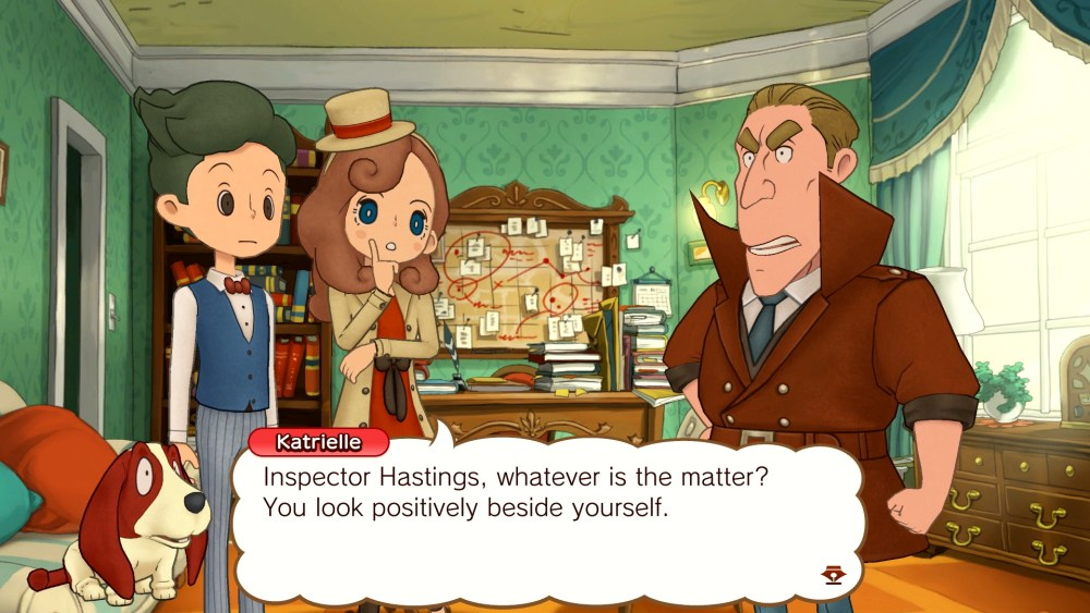 Layton's Mystery Journey: Katrielle and the Millionaires' Conspiracy Deluxe Edition Switch Screenshot 5