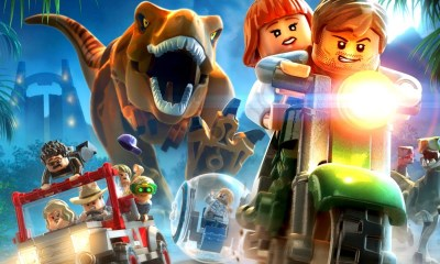 LEGO Jurassic World Key Art