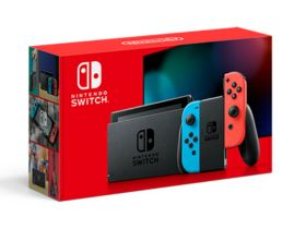 New Nintendo Switch Model Box Art