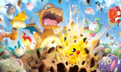Pokémon Rumble Rush Review Header
