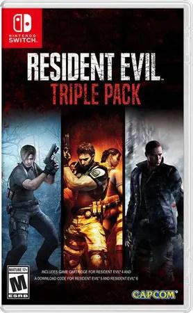 Resident Evil Triple Pack Switch Box Art