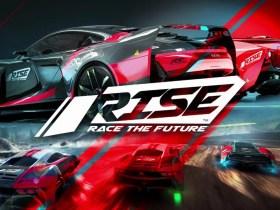 RISE: Race The Future Key Art