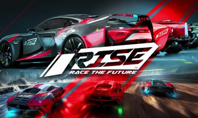 RISE: Race The Future Key Art