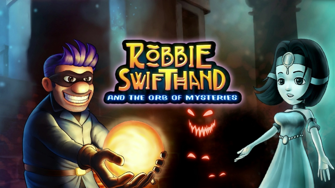 Robbie Swifthand And The Orb Of Mysteries Logo