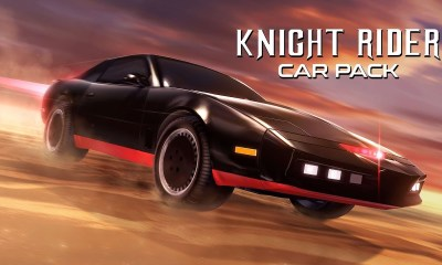 Rocket League Knight Rider Car Pack Screenshot